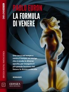 Copertina del romanzo La formula di Venere